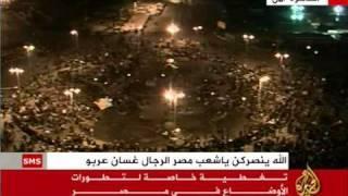 كلمة الشيخ على قناة الجزيرة بخصوص احداث مصر