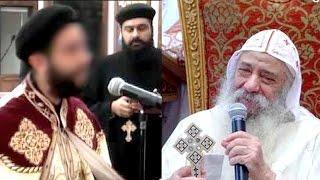 قسيس يوجه سؤال محرج الى البابا شنودة عن المسيحية ويعجز في الرد عليه - فماذا فعل له البابا