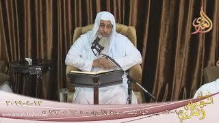 تفسير خواتيم سورة الأحزاب ( 18 ) الآيات ( 60-73) للشيخ مصطفى العدوي تاريخ 12 4 2019