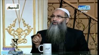 هل نصحت إخوانك المشايخ وأخبرتهم بما في الدستور المصري من أخطاء وفساد؟